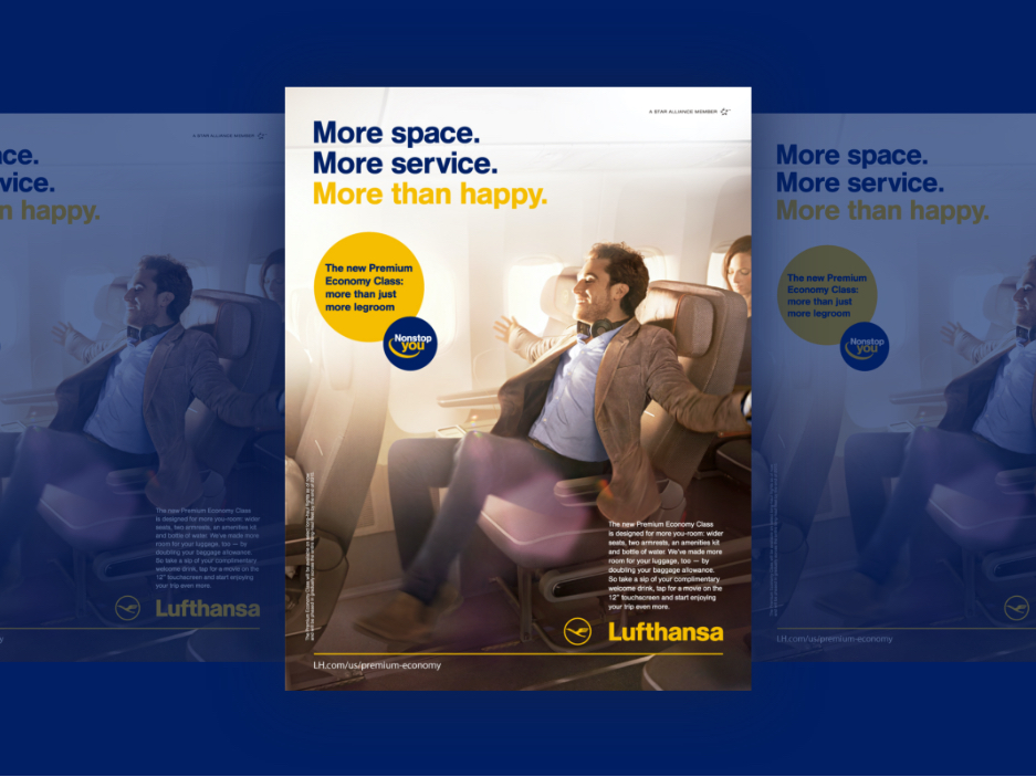 Illustration from Lufthansa project